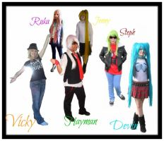 .:Vocappend:. Worlds End DanceHall .:CosCollab:. by PrincessDevin302