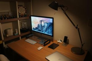 my desk 2015 by FloWater