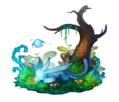 Ori and blind forest fanart by nukacola-quantum
