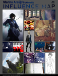 Influence Map 2015 by MinnaSD