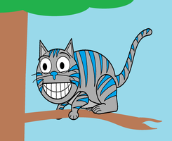 The Cheshire Cat by DanielLaux429