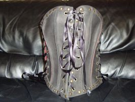 Leather corset by draks