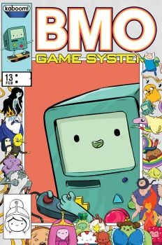 Adventure Time Comics #13 BMO Game System by rismo
