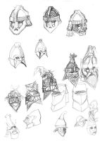 Lotr Dwarfs Designs 05 by Artigas