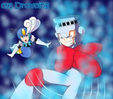091 - Drowning by Kamira-Exe