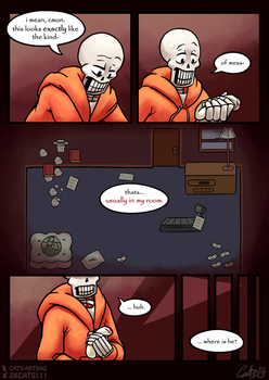 .: SwapOut : UT Comic [2-7] :. by ZKCats111
