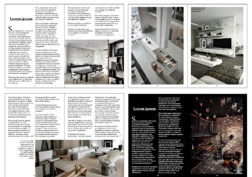 Loft design catalog - Pages overview by Ani-ko