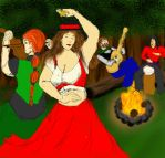 Dancing by Firelight merge test WIP1 by dhbraley