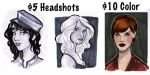 Five Dollar Headshots by Ratgirlstudios