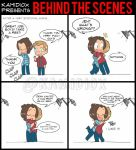 J to J: Behind the scenes (Wincest) by KamiDiox