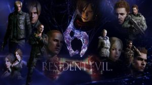 Resident Evil 6 Wallpaper by 13adLuck