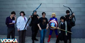 Ikkicon AVENGERS 1 by Tokyo-Trends