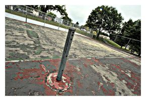 Old Tennis Court by captg