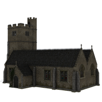 Church 5 by Waya-Stocks