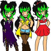 Komouri Wardrobe Base colors by Frenchielover4ever