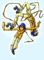 Akito and Agito by The-BlueLotus