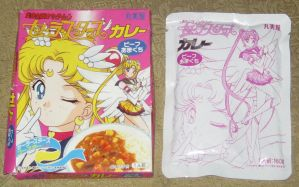 Sailormoon Sailor Stars Curry Mix by avaneshop
