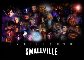 Smallville:Seasons wallpaper by Kyl-el7