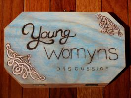 Young Womyn's Discussion Box by Rococokara