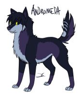 Andromeda - New Ref 8D by DarkChocaholic