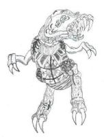 omega metroid drawn from small by carlosiii