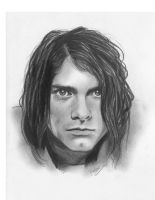 Kurt Cobain sketch by RenEscar