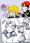 Jack Spicer sketches by tamashii-chan