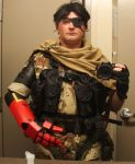 Punished Snake WIP 2 by Scarlet-Impaler