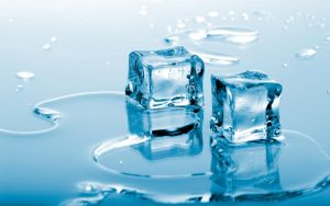 Blue Ice Cubes by felicianovargas01