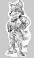 fox mccloud by supercrazzy