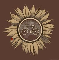 African Bike Sign by KiloWhat