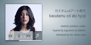Kasutamu for CD Art Display by ganknevets