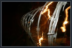 008- Barbed Wire by xerro