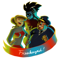 Freakazoid Party! by student-yuuto