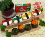 Sushi Candy by theresahelmer
