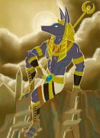Keeper of Souls, Anubis by Whitestar1802