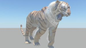 tiger render by poker15