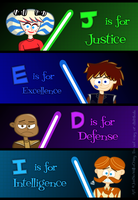 J.E.D.I. Theme Sequence Poster by MU-Cheer-Girl