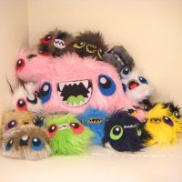 PILE O MONSTER BABIES by loveandasandwich