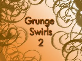Grunge Swirl Brushes 2 by Lou012