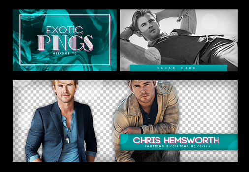 Pack Png 647 // Chris Hemsworth by ExoticPngs