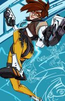 Tracer Overwatch by PumaDriftCat