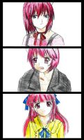 elfen lied: tears by CrimsonStigmata2501