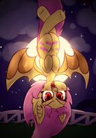 Flutterbat - Actually Halloween this time! by Bloodatius