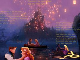 Tangled Flyn and Rapunzel by HatakeRan