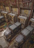 Cargo Docks by iCephei