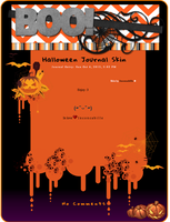 [ Halloween Journal Skin ] by Inconcabille