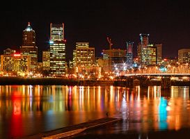 Downtown Colourful by TC-Photography