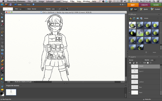 Commander Girl W.I.P by Cakesalie