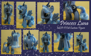 Brushable Princess Luna 2.0 Figure *Commission* by Merriweather-Flight
